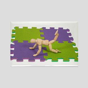 Gym mat Rectangle Magnet