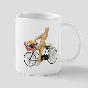 Bicycle picnic Mug