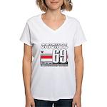 Race to the Limit Women's V-Neck T-Shirt