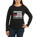 Race to the Limit Women's Long Sleeve Dark T-Shirt