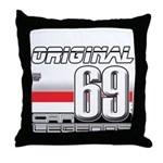 Race to the Limit Throw Pillow