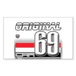 Race to the Limit Rectangle Sticker 10 pk)