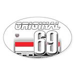 Race to the Limit Oval Sticker (50 pk)