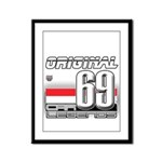 Race to the Limit Framed Panel Print