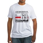 Race to the Limit Fitted T-Shirt