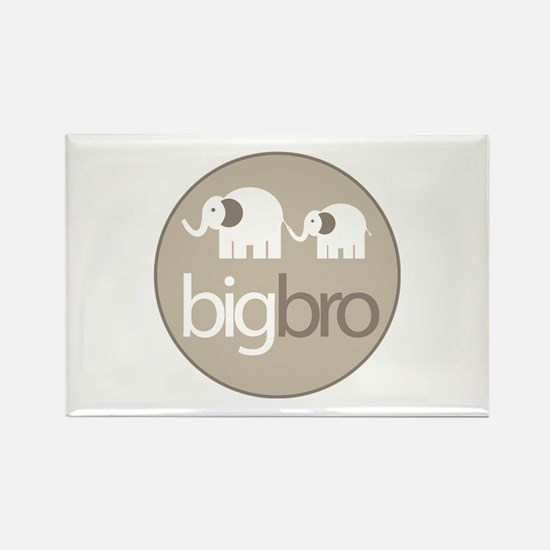 big brother t-shirt big and little elephant Rectan