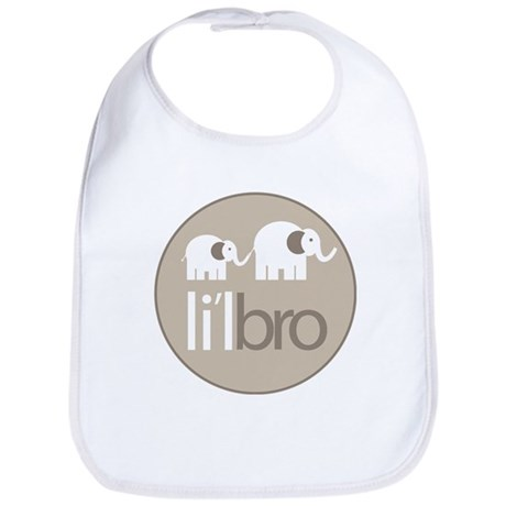 little brother t-shirt elephant Bib