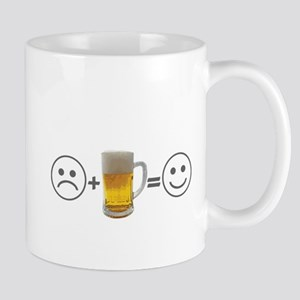 Beer makes me happy Mug