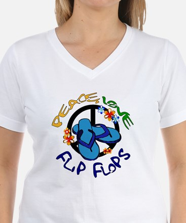 peace, love, flip-flops Shirt