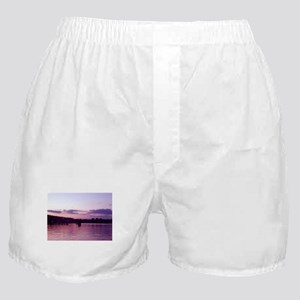 Lake Winnipisaukee at sunset Boxer Shorts