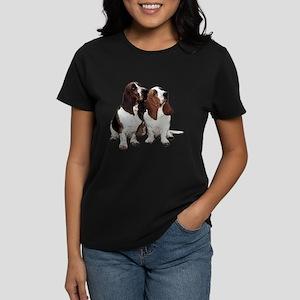 Basset Hounds Women's Dark T-Shirt