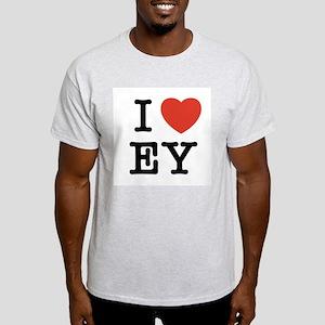 I Heart EY Light T-Shirt