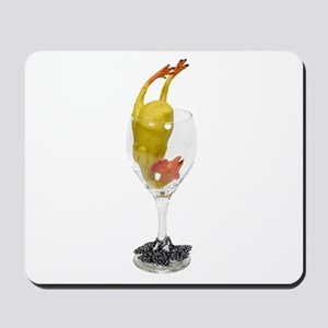 Serving of fun Mousepad