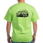 New Logo Green T-Shirt Back Design