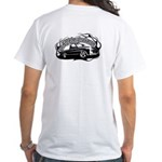 New Logo White T-Shirt Back Design