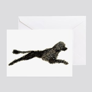 Leaping PWD Greeting Cards (Pk of 10)
