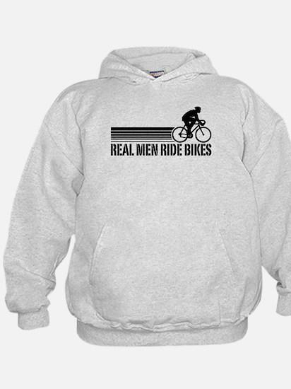 Real Men Ride Bikes Hoodie