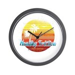 California Palms (2nd design). Wall Clock