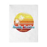 California Palms (2nd design). Twin Duvet Cover
