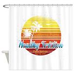 California Palms (2nd design). Shower Curtain