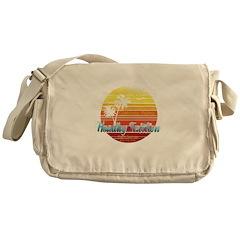 California Palms (2nd design). Messenger Bag