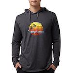 California Palms (2nd design). Long Sleeve T-Shirt