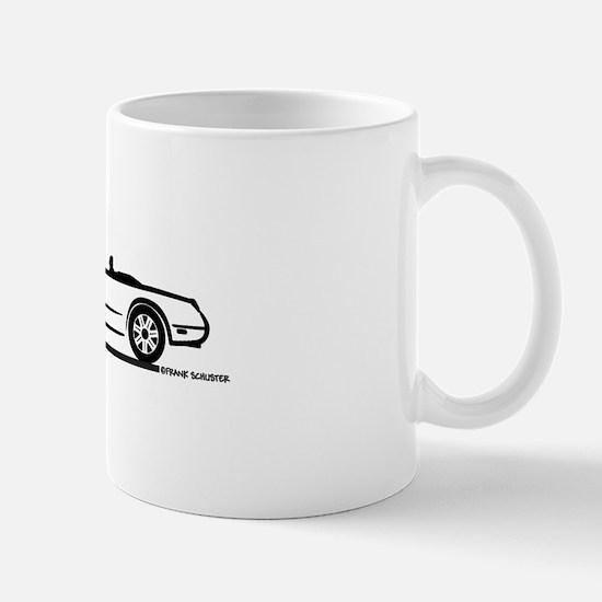 02 05 Ford Thunderbird Convertible Mug