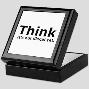 Think it's not illegal yet. Keepsake Box
