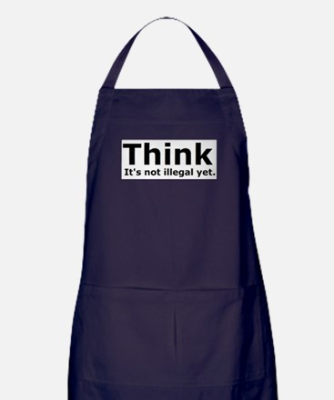 Think it's not illegal yet. Apron (dark)