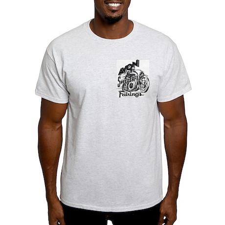 Avon Fairings Ash Grey T-Shirt