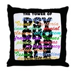Psychobabble Throw Pillow