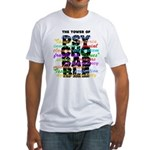 Psychobabble Fitted T-Shirt