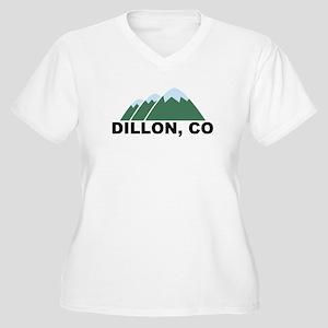 Dillon, CO Women's Plus Size V-Neck T-Shirt