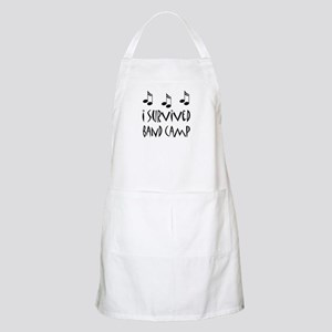 I Survived Band Camp Apron