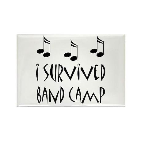 I Survived Band Camp Rectangle Magnet