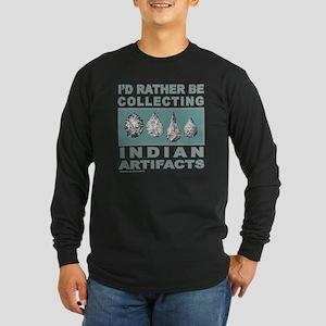 ARROWHEAD COLLECTOR Long Sleeve Dark T-Shirt