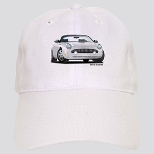 2002 05 Ford Thunderbird White Cap