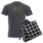 Camo Flag Men's Charcoal Pajamas