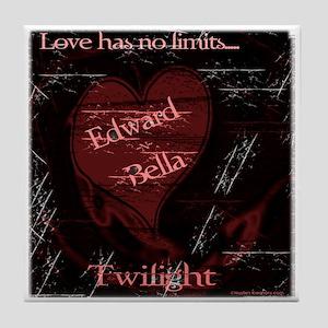 Love Has No Limits Tile Coaster