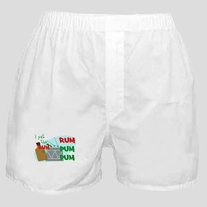 RUM pum pum Boxer Shorts