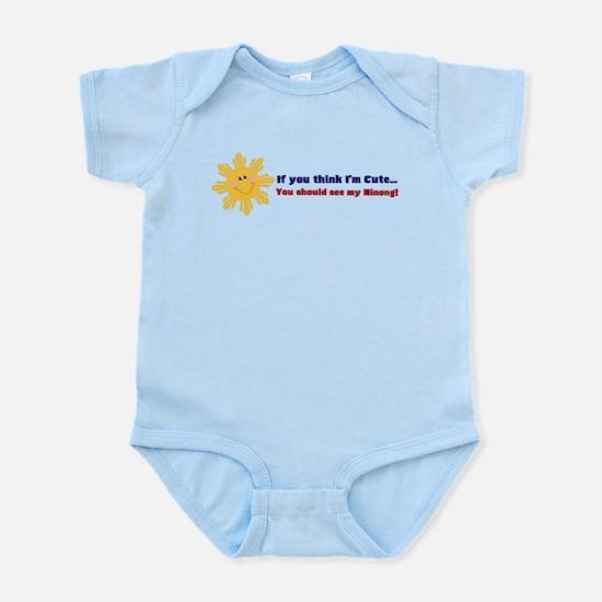 Philippine Sun Infant Bodysuit- Ninong