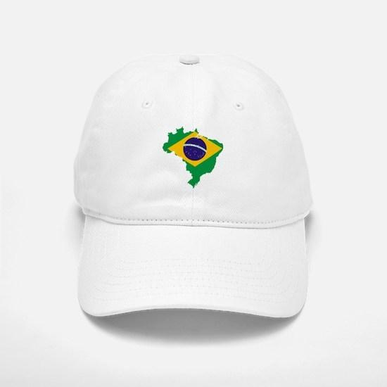 Brazil Futbol Baseball Baseball Cap