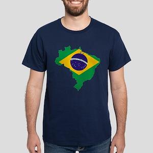 Brazil Futbol Dark T-Shirt