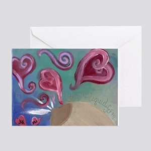 liquidlove Greeting Cards
