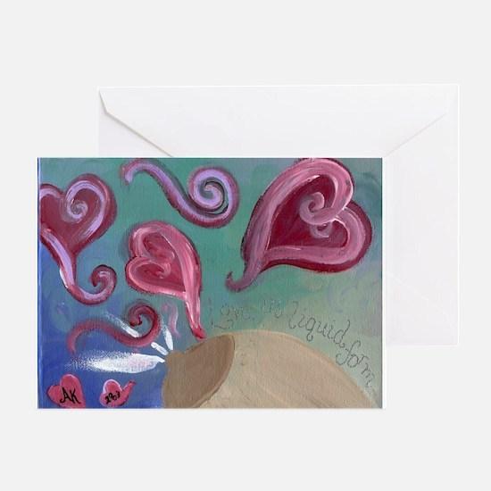 liquidlove Greeting Cards
