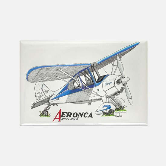 Aeronca Airplanes Rectangle Magnet
