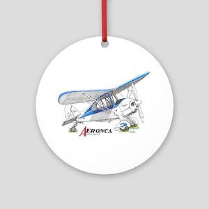 Aeronca Airplanes Ornament (Round)
