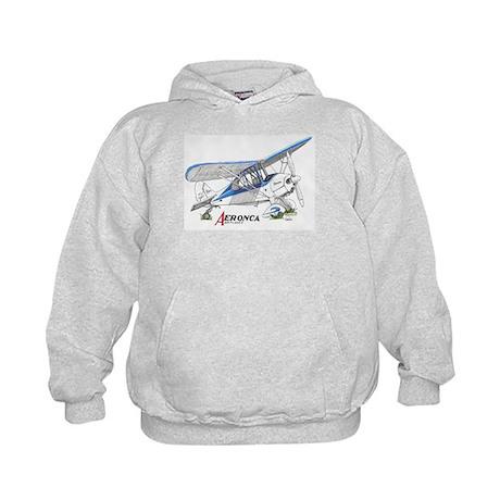 Aeronca Airplanes Kids Hoodie
