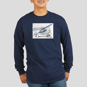Aeronca Airplanes Long Sleeve Dark T-Shirt