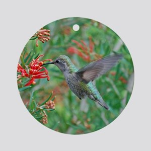 Hummingbird Heaven Ornament (Round)